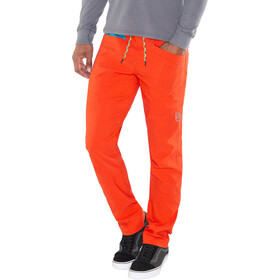 La Sportiva Talus Pants Herr tangerine/tropic blue